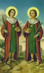 ST. COSME AND DAMIAN